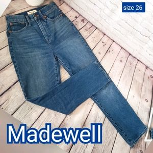 Madewell The Perfect Vintage Jean sz 26 High Rise